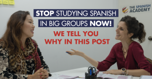 learn spanish in small groups