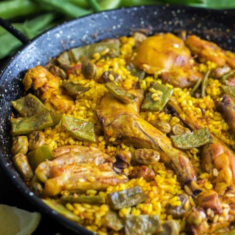 eat in Spain - Paella