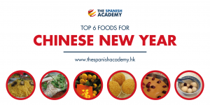 Top foods for Chinese New Year in Spanish